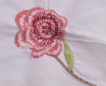 Embroidery Backing Using Place
