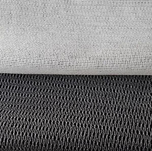 Black and White Fusible Knit Interfacing