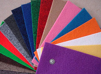 Coloured Non Woven Felt