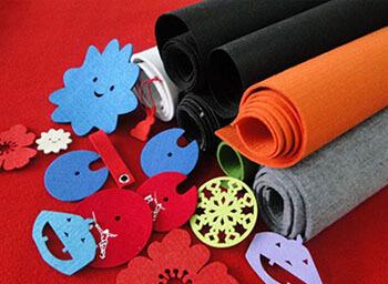 polyester felt fabric usage