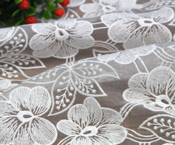 Water Soluble Fabric Stabilizer for Lace Embroidery