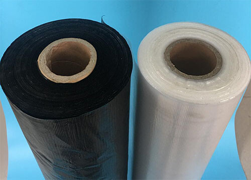 black PE thermoplastic adhesive film