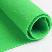 Green Felt Fabric Colour 1