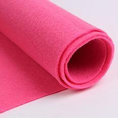 Red Felt Fabric 02
