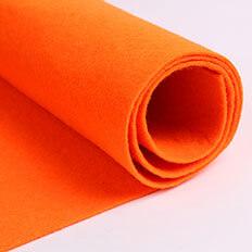 Red Felt Fabric 03