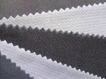 Black and White Stretch Interfacing