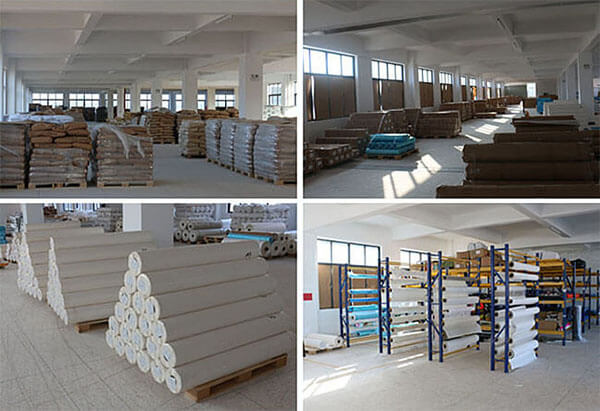 hot melt adhesive film for textile fabric warehouse
