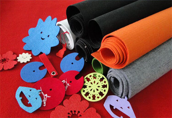 Polyester Felt Fabric Usage