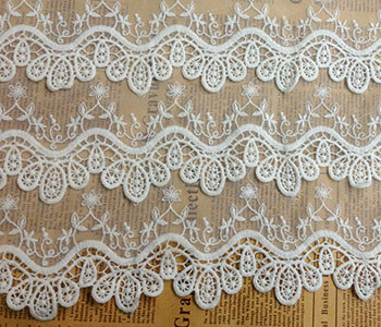 Water Soluble Fabric Stabilizer for Lace