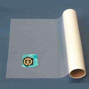 hot melt adhesive film usage badge