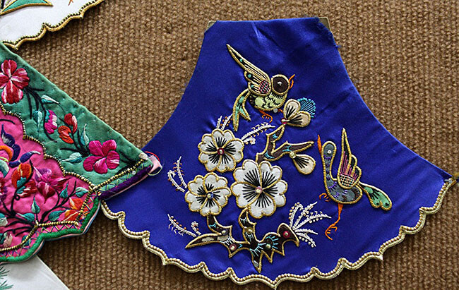 right embroidery backing makes beautiful products
