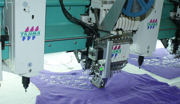 embroidery hot melt film application