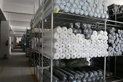 collar interlining warehouse