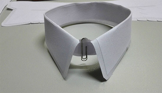 collar interlining usage