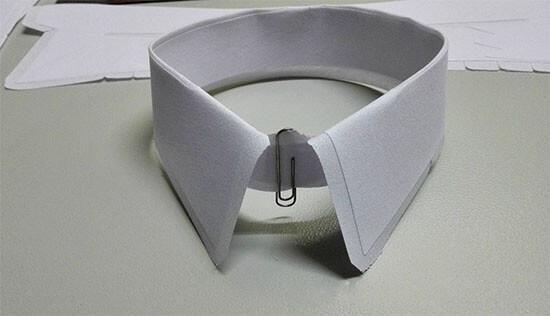 collar interlining usage