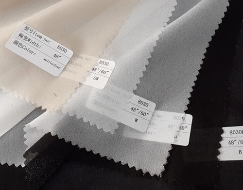 lightweight woven fusible interfacing details
