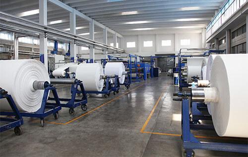 polyester spunbond fabric workshop