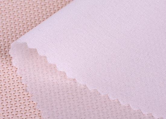 white silk organza interfacing