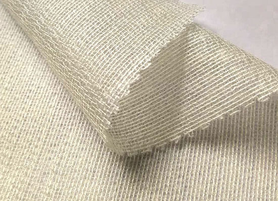 white fusible weft interfacing