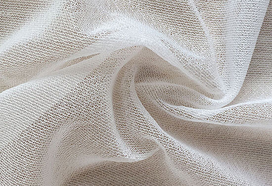 white stretch fusible interfacing