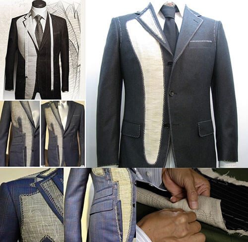 hair canvas interfacing for tailoring